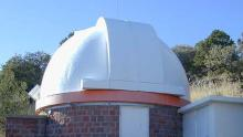 The dome of the 0.9-meter Telescope.