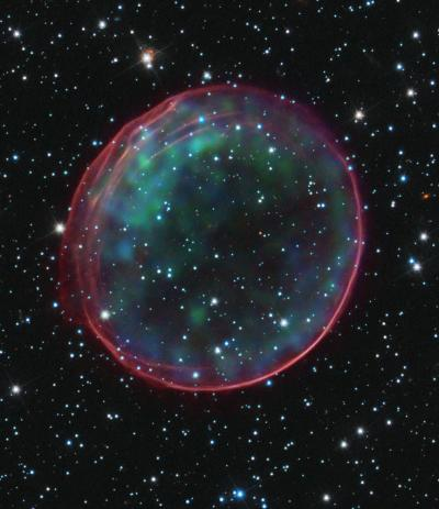Supernova remnant 0509-67.5