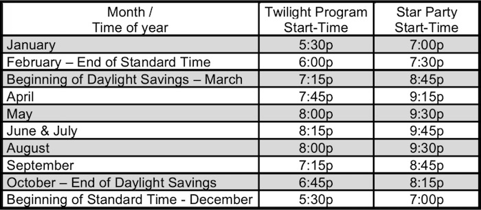Mcdonalds Christmas Hours.Visit The Observatory Mcdonald Observatory