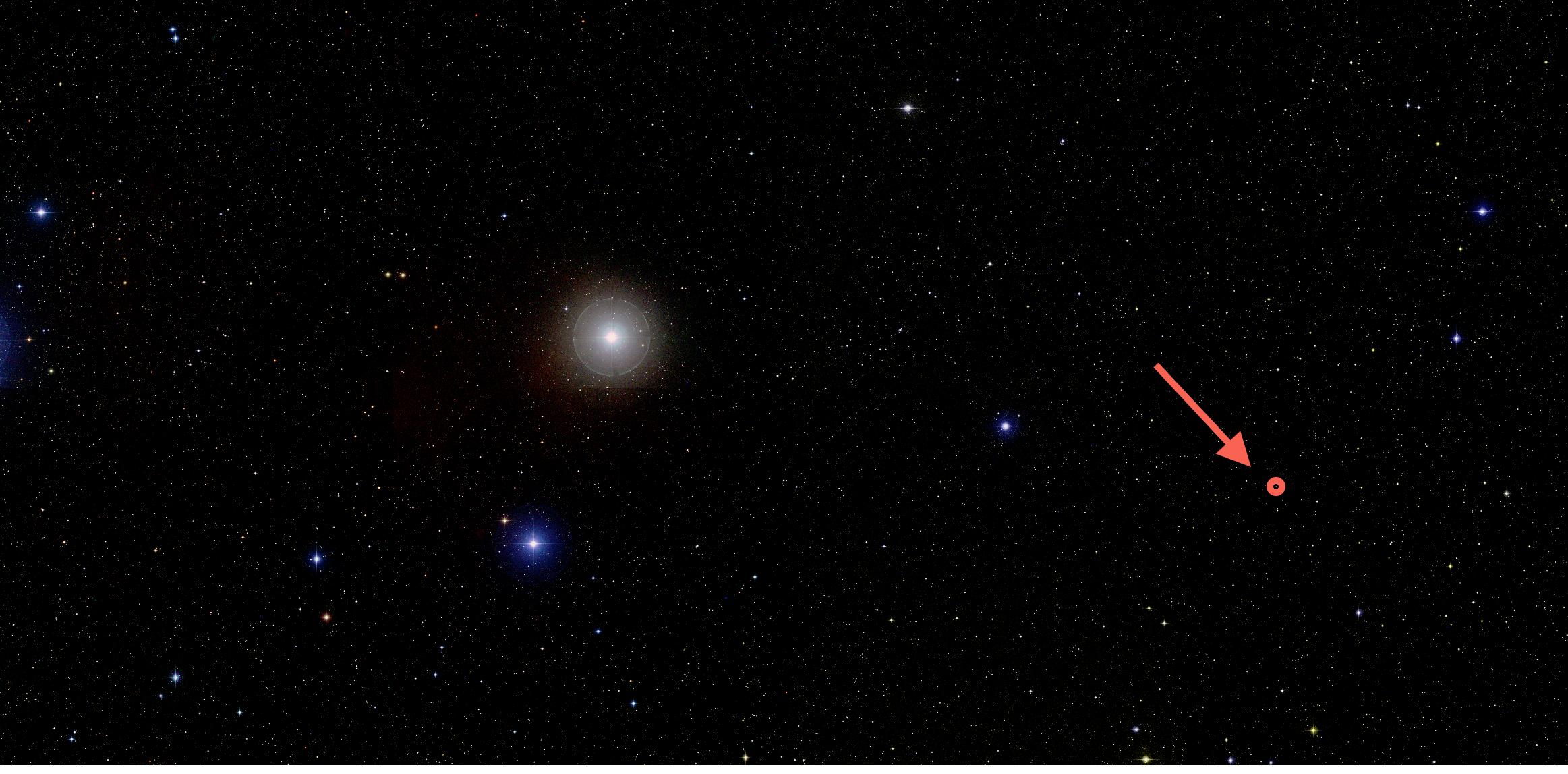 Resultado de imagen de Un cielo negro y pocas estrellas en unas regiones y, en otras, cielo azul abarrotado de estrellas
