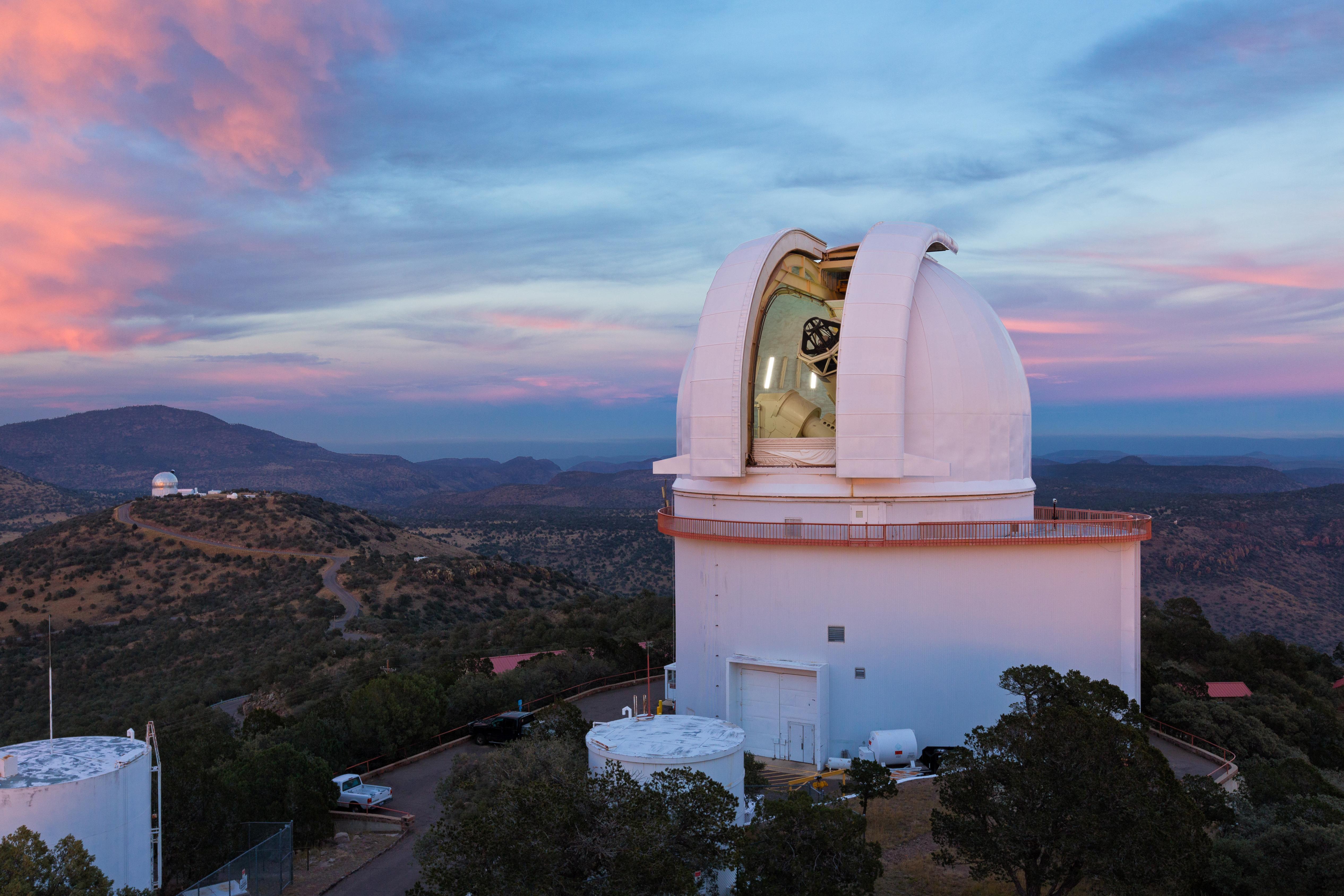 telescope images mcdonald observatory