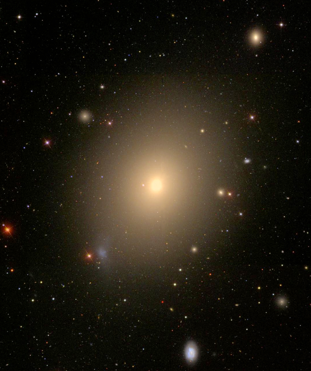 Elliptical Galaxy Ngc 4472 Mcdonald Observatory