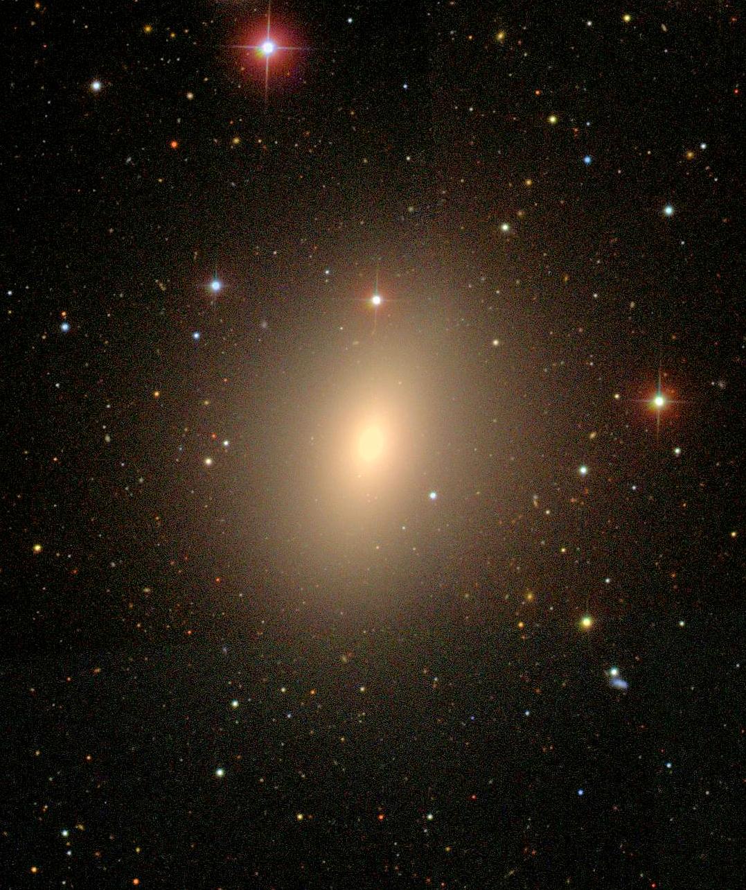Elliptical Galaxy NGC 4621 | McDonald Observatory