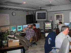 The control room of the HET.