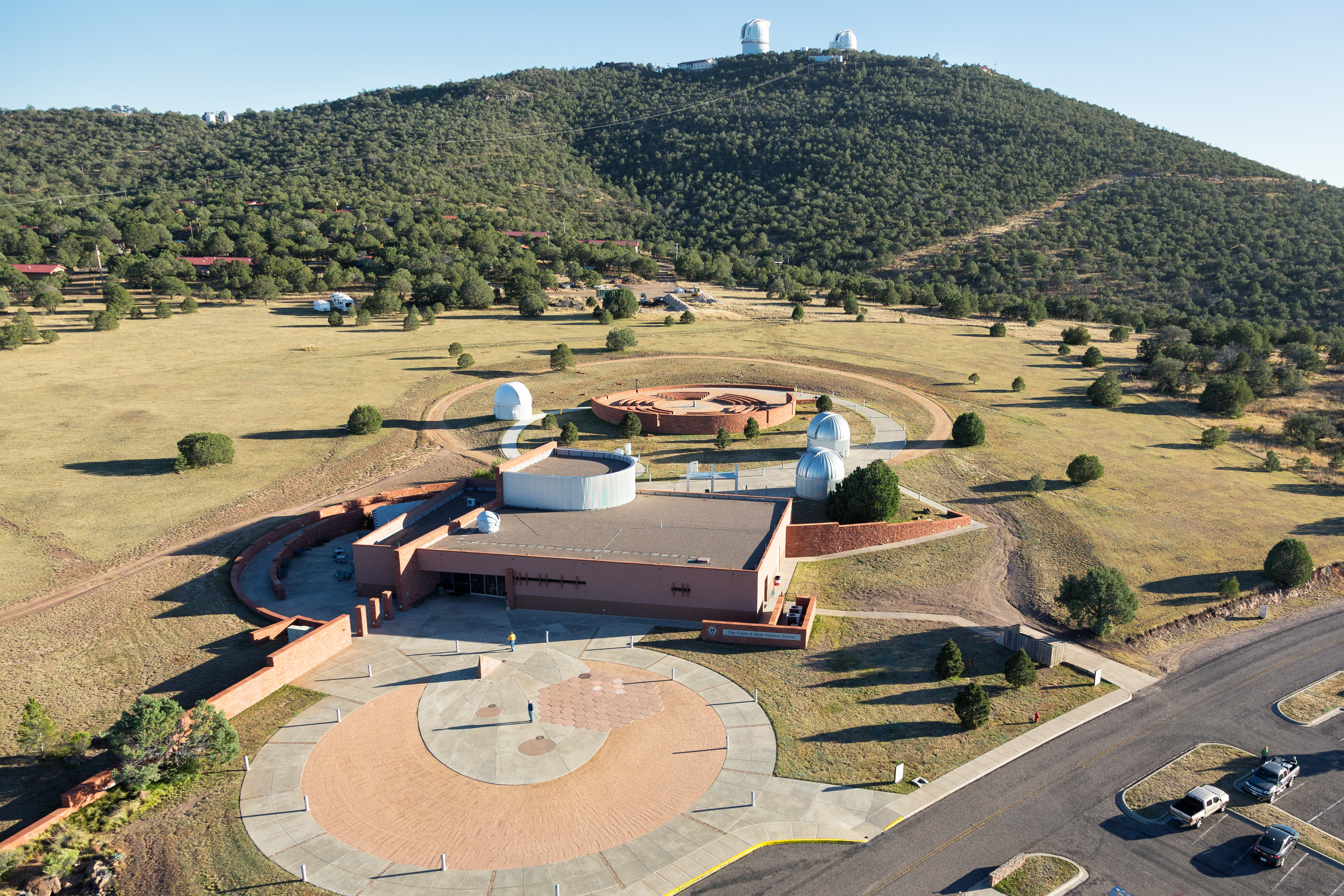 Overview of Visitors Center