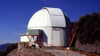 The dome of the 0.8-meter telescope.