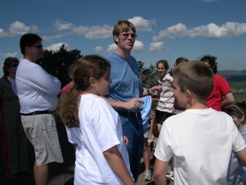 School class field trip to McDonald Observatory