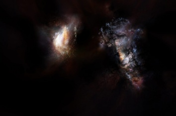 Galaxies illustration