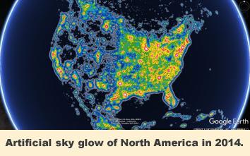 Dark Skies Initiative Mcdonald Observatory - Us-dark-sky-map