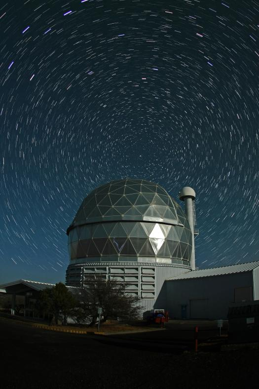 HET with star trails