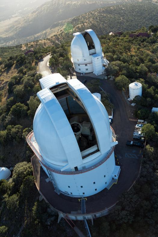 Mt. Locke domes