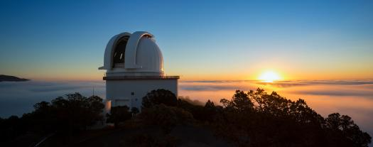 Smith Telescope sunrise