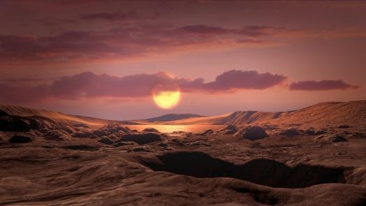 Kepler-1649c Surface