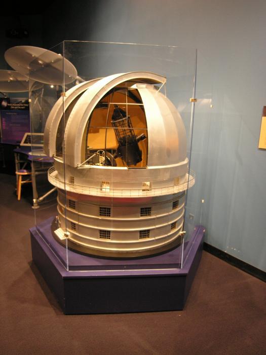 Struve Telescope model