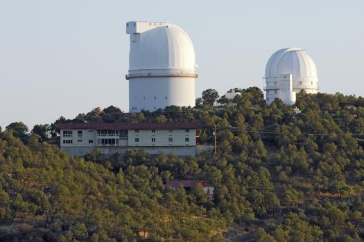 The Astronomers Lodge, where visiting scientists and other official visitors sta