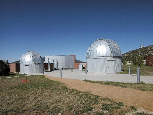 The Rebecca Gale Telescope Park at the Frank N. Bash Visitors Center is home to