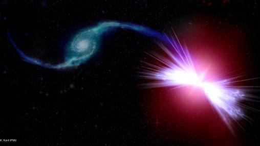 Red Geyser Galaxy